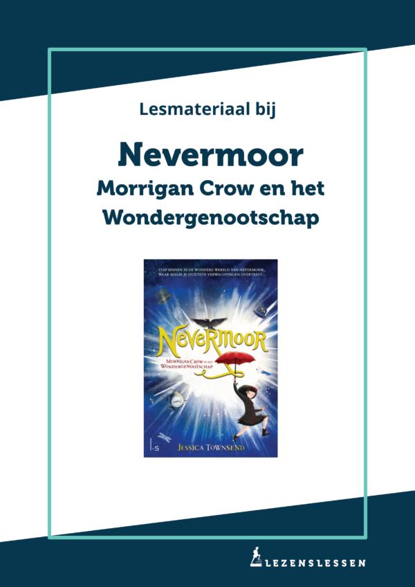 Omslag lesmateriaal bij Nevermoor